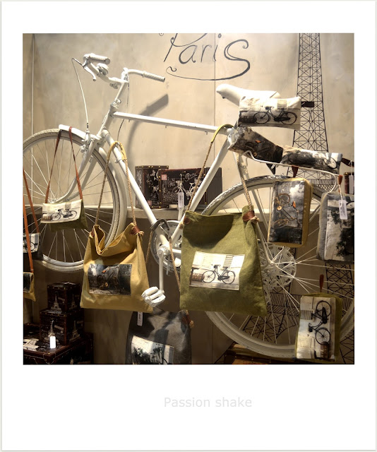 vintage bike home decor