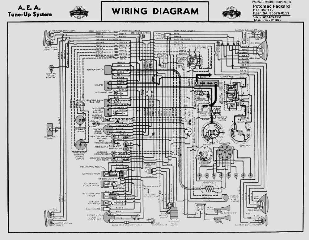 1946 packard clipper wiring diagram