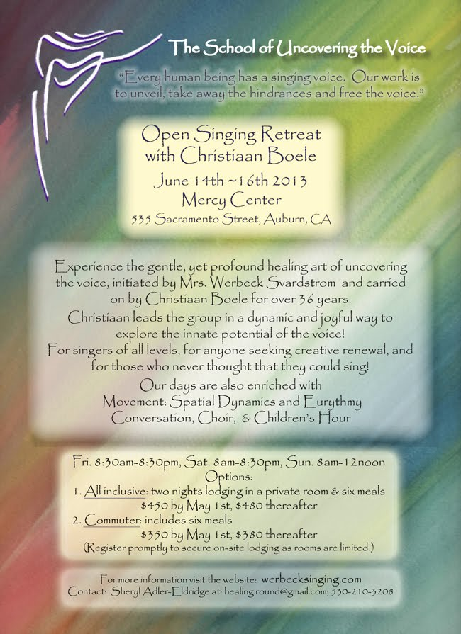 Open Singing Retreat