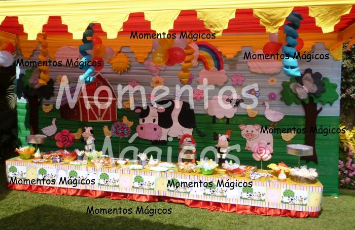 Decoracion Infantil De Granja ~   de Eventos FOTOS NUEVAS EN SECCION DECORACIONES INFANTILES NI?AS
