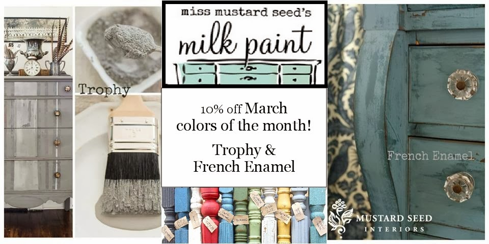 Miss Mustard Seed's Milk Paint Colors of the Month