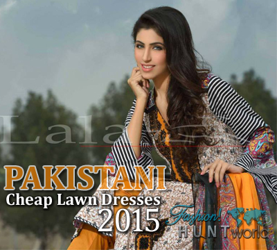 Pakistan's Cheap Summer Lawn Dresses 2015-2016