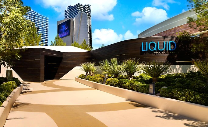 Aria Resort-Liquid Pool, Lounge