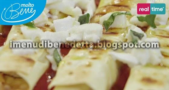Cannelloni Grigliati alle Melanzane di Benedetta Parodi
