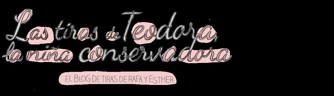 Las tiras de Teodora, la niña conservadora