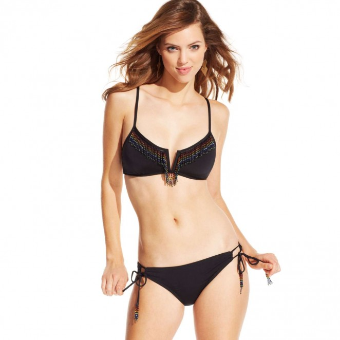 Macy's Swimwear Collection 2015 starring Veronice Zoppolo