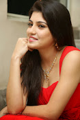 Priyadarshini Glam Pics in Red at Dillunnodu audio-thumbnail-3