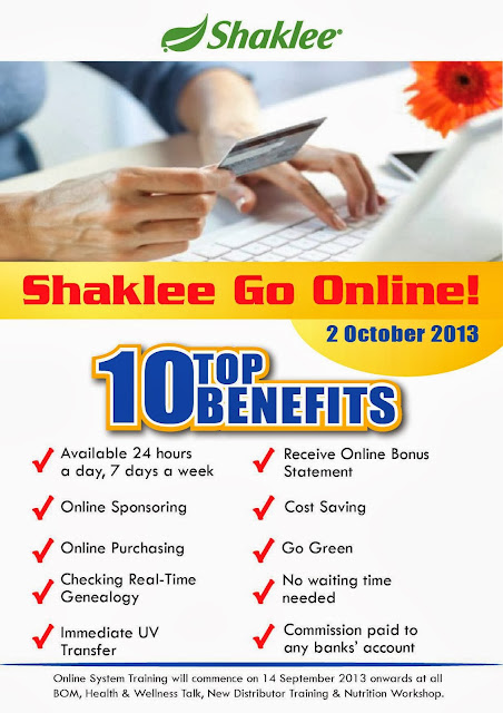 Shaklee Malaysia Go Online