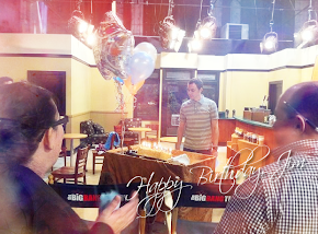 Birthday Surprise for Jim Parsons