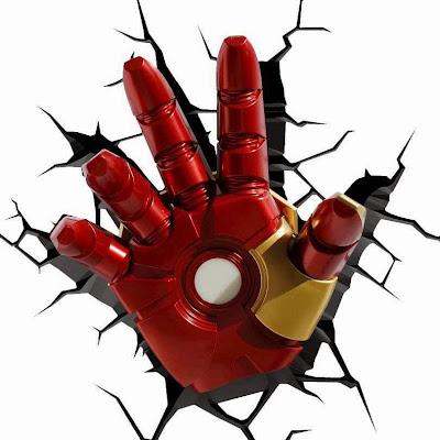 Lámpara Iron Man The Avengers