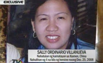china death penalty row filipino philippines