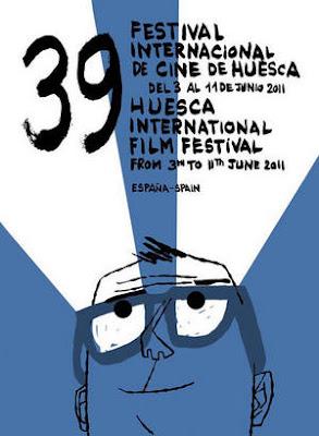 Huesca celebra la 39ª edición de su Festival de Cine. Cartel oficial
