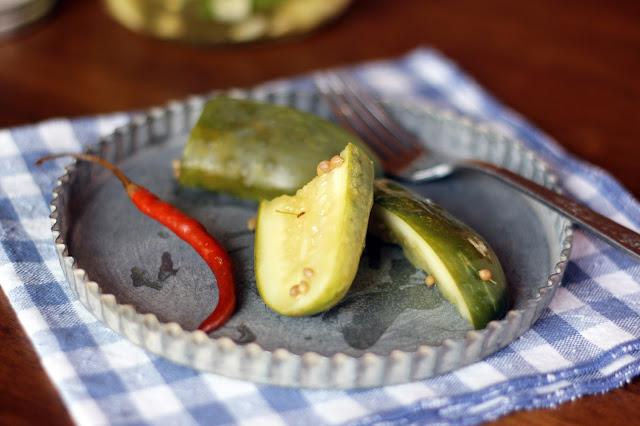 summer pickles