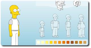 Créez votre avatar Simpsons