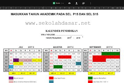 Kalender Pendidikan Lengkap Semua Tahun Pelajaran