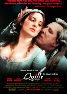 Düşlerin Efendisi Quills filmini Türkçe Dublaj izle