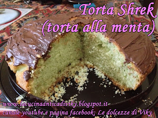 TORTA ALLA MENTA (TORTA SHREK)