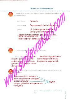 6.Sinif  Turkce Doku Yayinlari Ogrenci Calisma Kitabi Sayfa 31