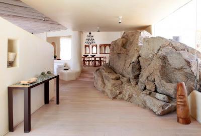 Traditional Greek house on Mykonos island