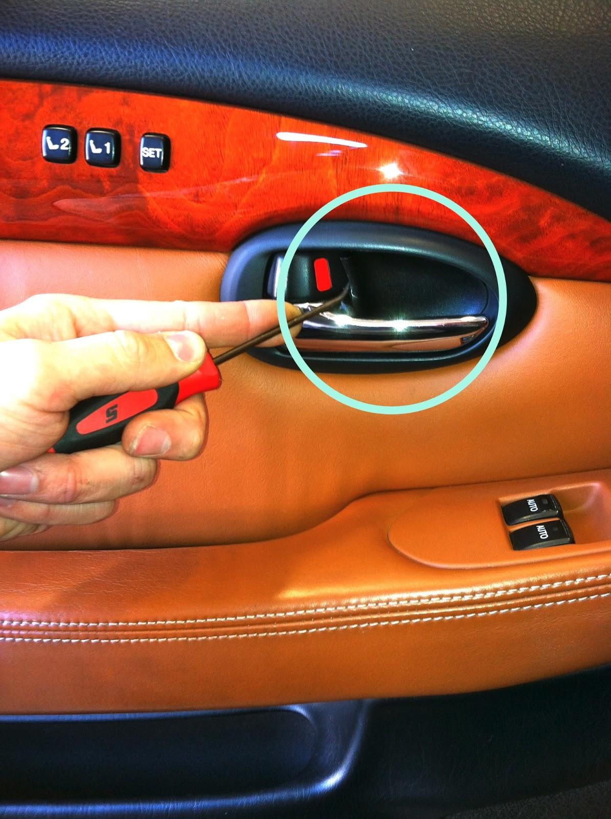 Lexus SC Door Panel Removal & Lexus SC Door Panel Removal. ~ Automotive Zone