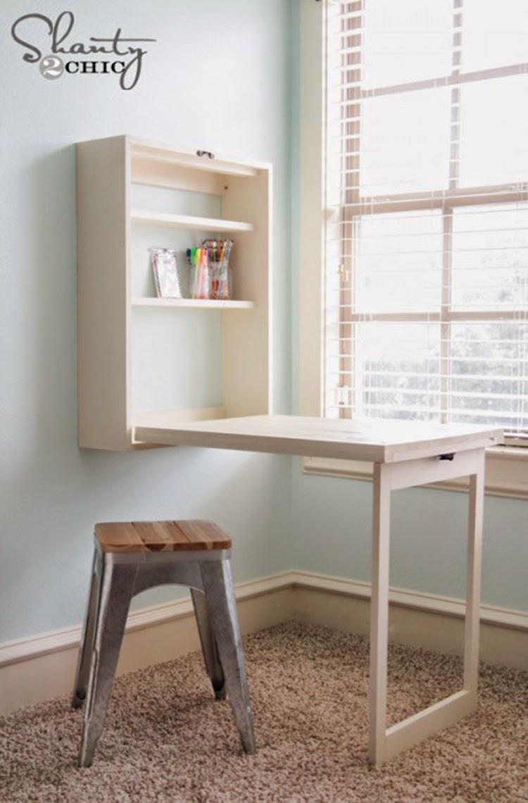 Отличные идеи рабочего места в малогабаритной квартире / sur.