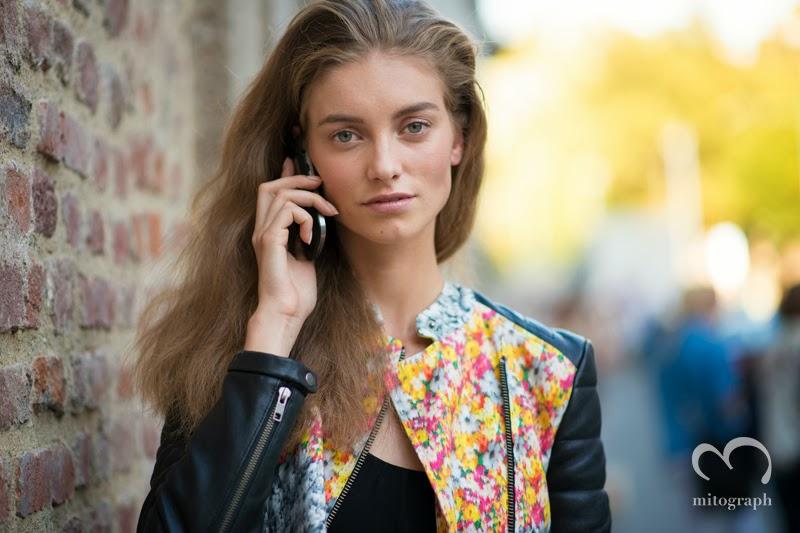 mitograph Iris Van Berne After Alberta Ferretti Milan Fashion Week 2014 Spring Summer MFW Street Style Shimpei Mito