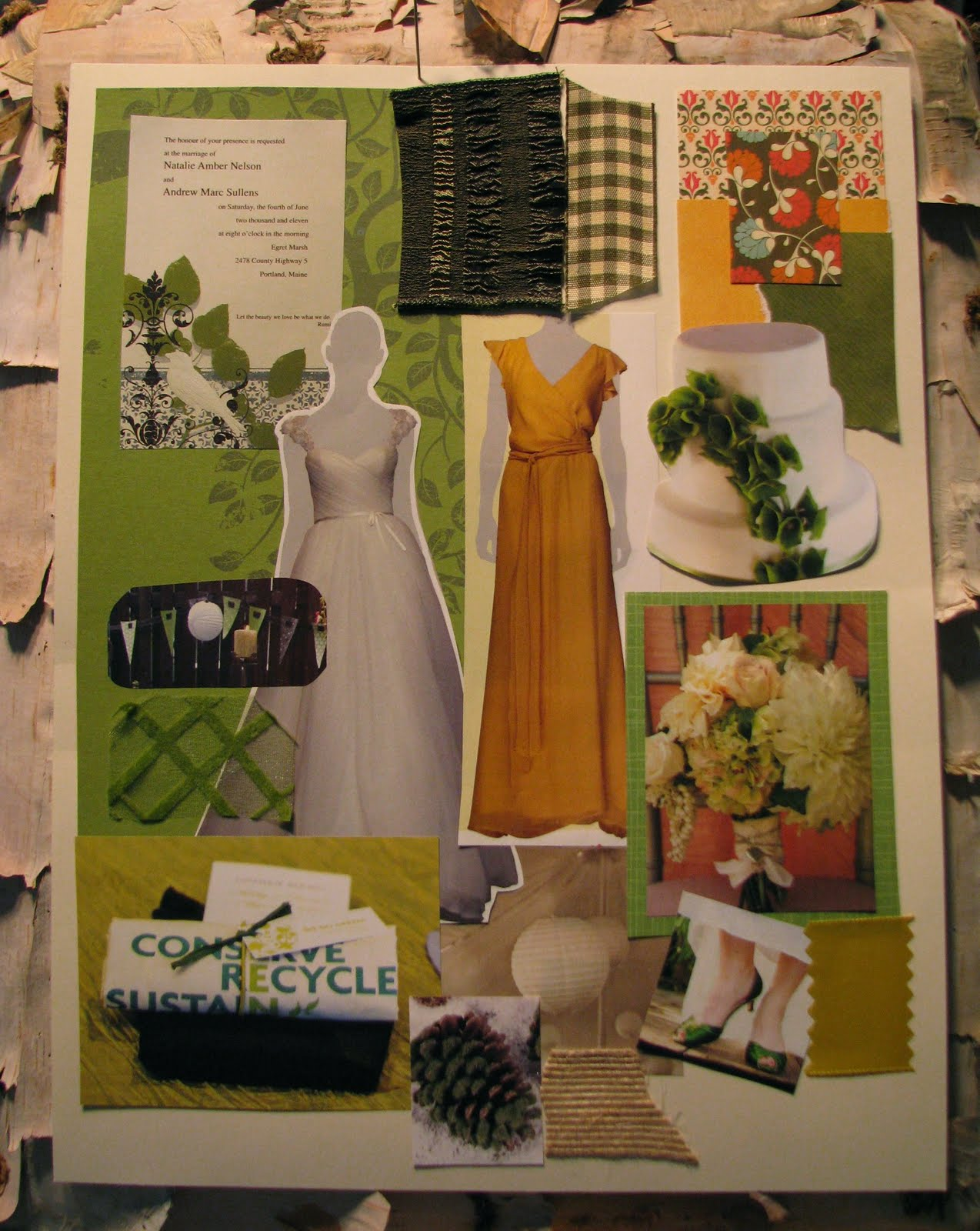 Take Your Vision Board With You When Visit Vendors Go Dress Ping Chat Bridesmaids Etc