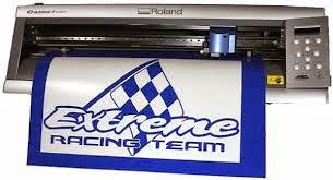 digital printing sticker cutting roland
