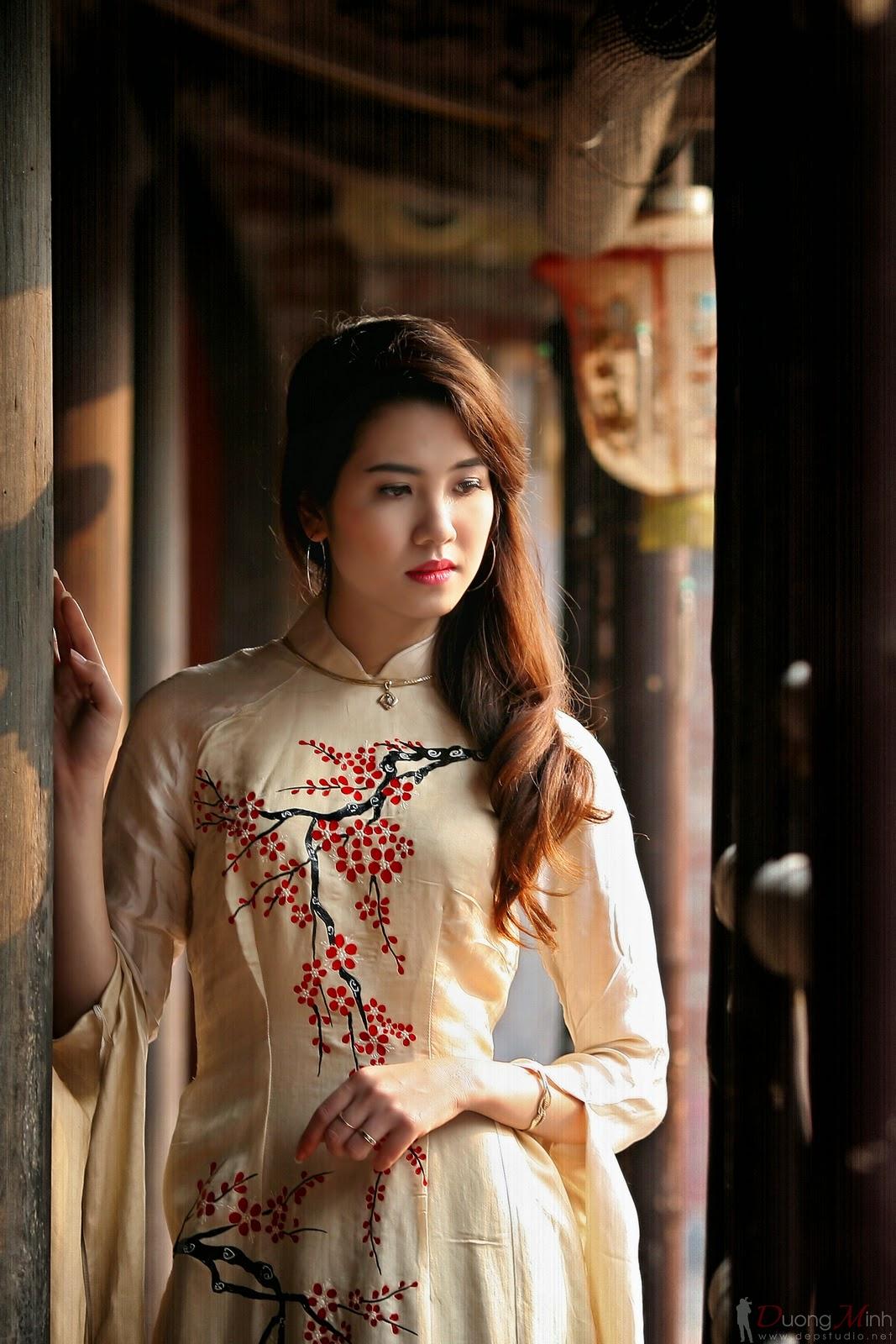 Ảnh đẹp girl xinh Áo dài truyền thống Việt Nam - Ảnh 30