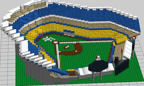 Sons of Steve Garvey: LEGO Dodger Stadium
