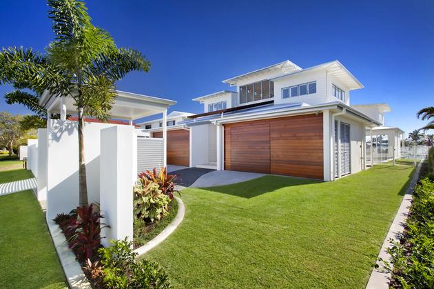 Casa de playa con fachada frente al mar todo sobre fachadas - Casa de playa ...