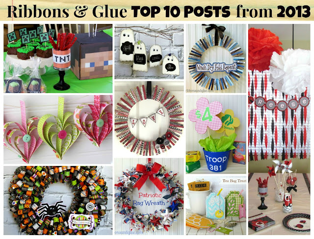 Ribbons & Glue Top 10 Posts