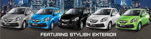 Honda Brio Harga dan Spesifikasi lengkap