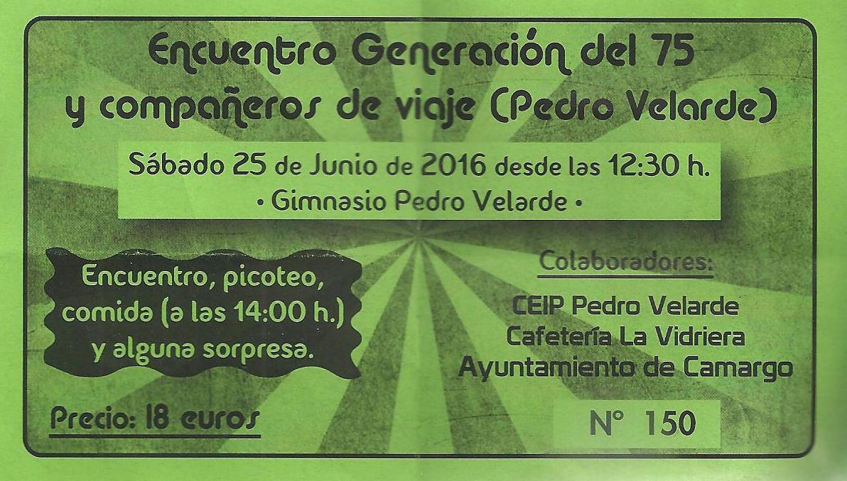 ENCUENTRO GENERACIÓN 75