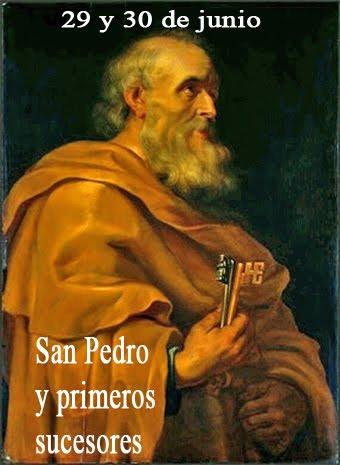En la festividad de San Pedro