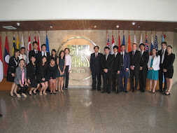 Ed's NUS Law Class at the ASEAN Secretariat
