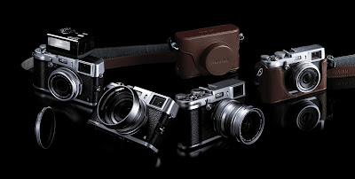 New Fujifilm X100S, retro camera, digital camera, Fujifilm X100S