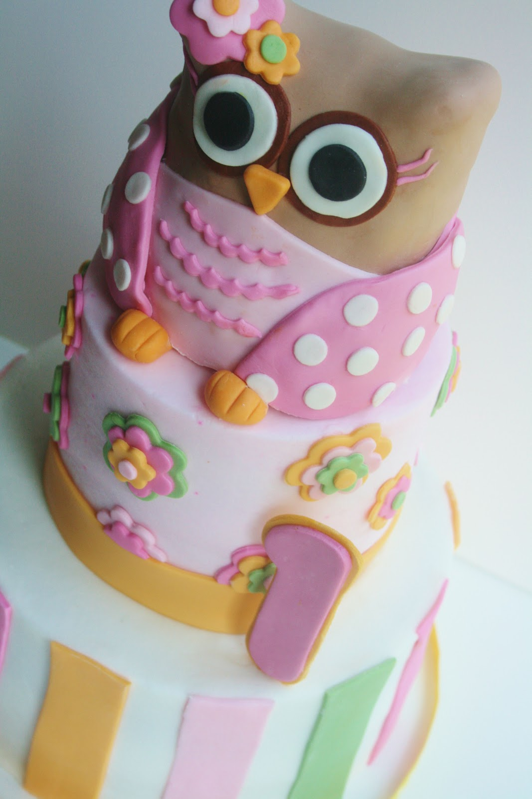 And Everything Sweet Girlly Owl First Birthday
