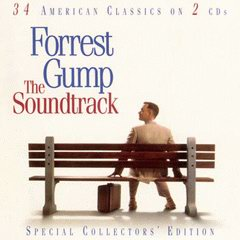 CD Cover of Forrest Gump The Soundtrack