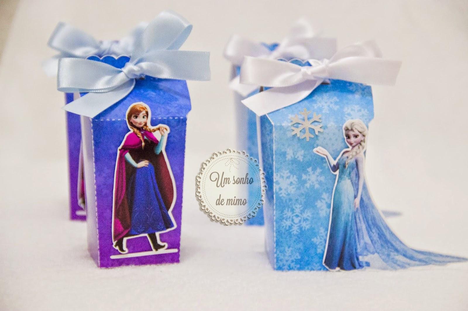 personalizados Frozen, festa frozen, Frozen, Frozen BH, Caixa personalizada Frozen