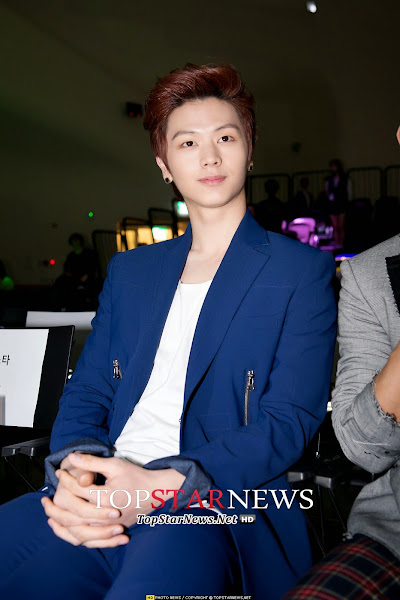 BtoB Sungjae Seoul Fashion Week 2014