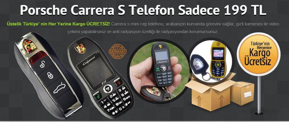 Porsche Carrera S Telefon