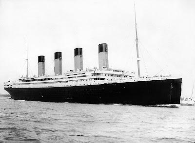 Titanic, ship, barco