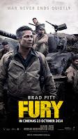 Fury 2014 movie poster malaysia