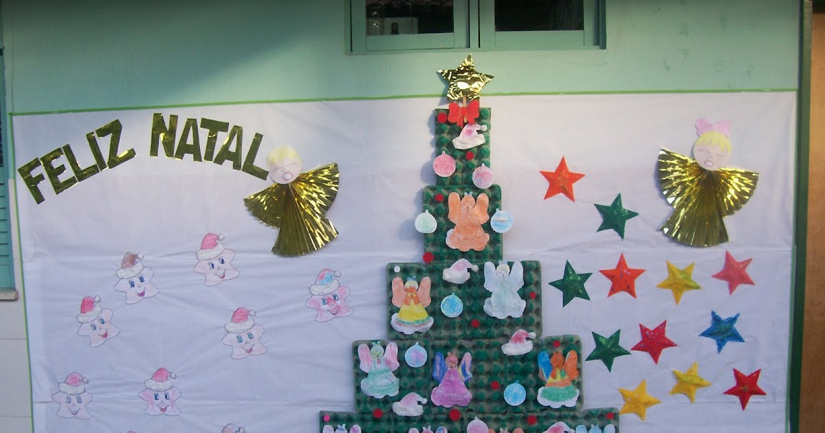 Jornal ponto com natal s mbolos cartazes murais for Mural de natal 4 ano