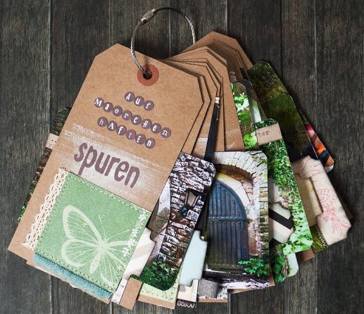 Scrapbooking-Kit im Juni - Minibuch-Inspiration