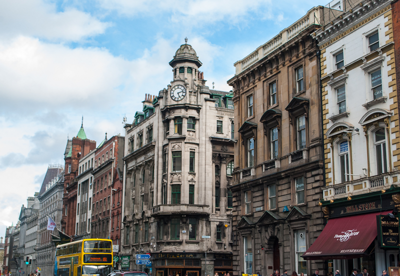 Buildings and streets image of Dublin Ireland