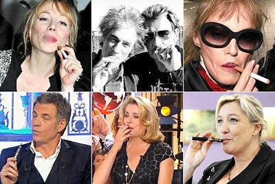 Les stars françaises et la cigarette électronique