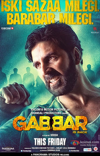 Gabbar is Back (2015) Movie Poster No. 2