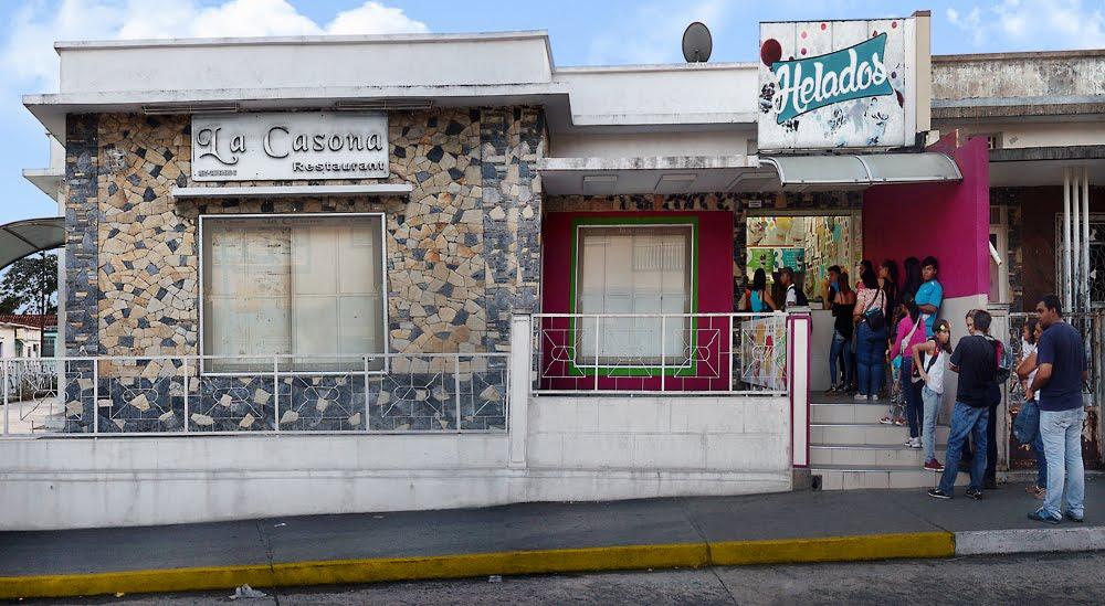 Heladería la Casona, San Felipe